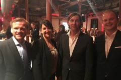 Elmar Niederhaus, Inga Knoche, Dr. Carl Naughton, Nico Lüdemann