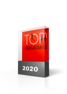 TOP CONSULTANT 2020 Trophäe