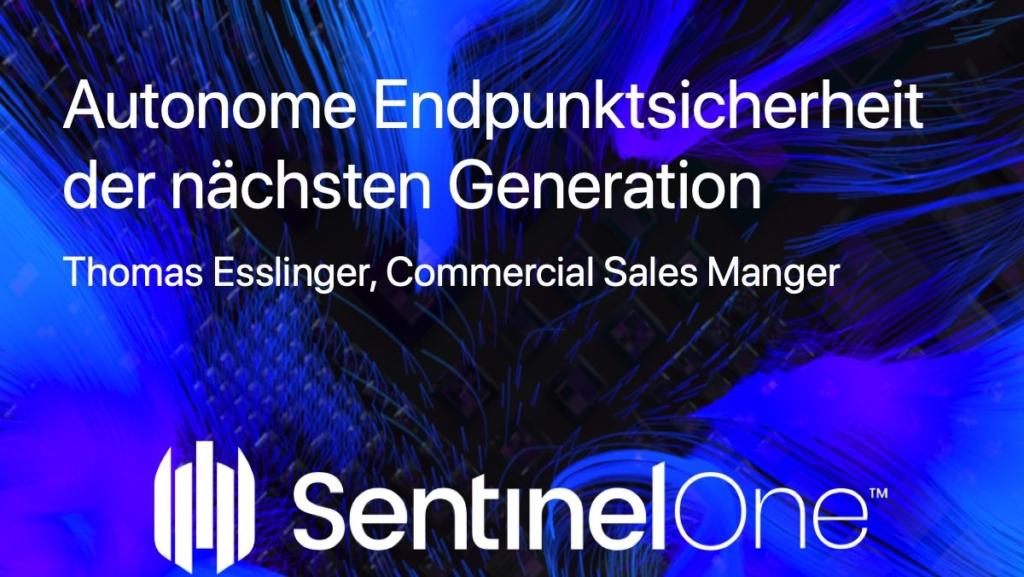 SentinelOne Webinar by bluecue